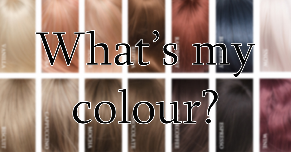 Confused About Wig Colour Colour Chart
