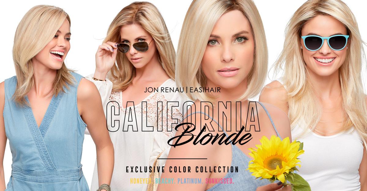 California Blonde Wigs Jon Renau