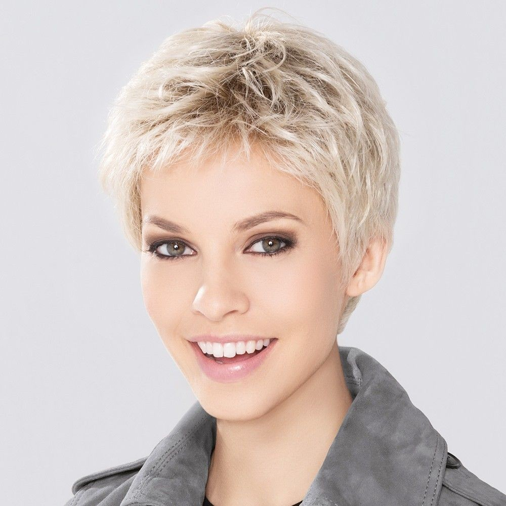 Short Wigs Salt and Pepper Hair
