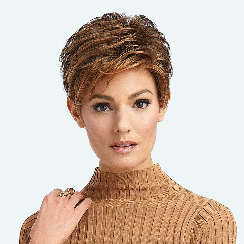 Advanced French wig Raquel Welch UK Collection in Hazelnut