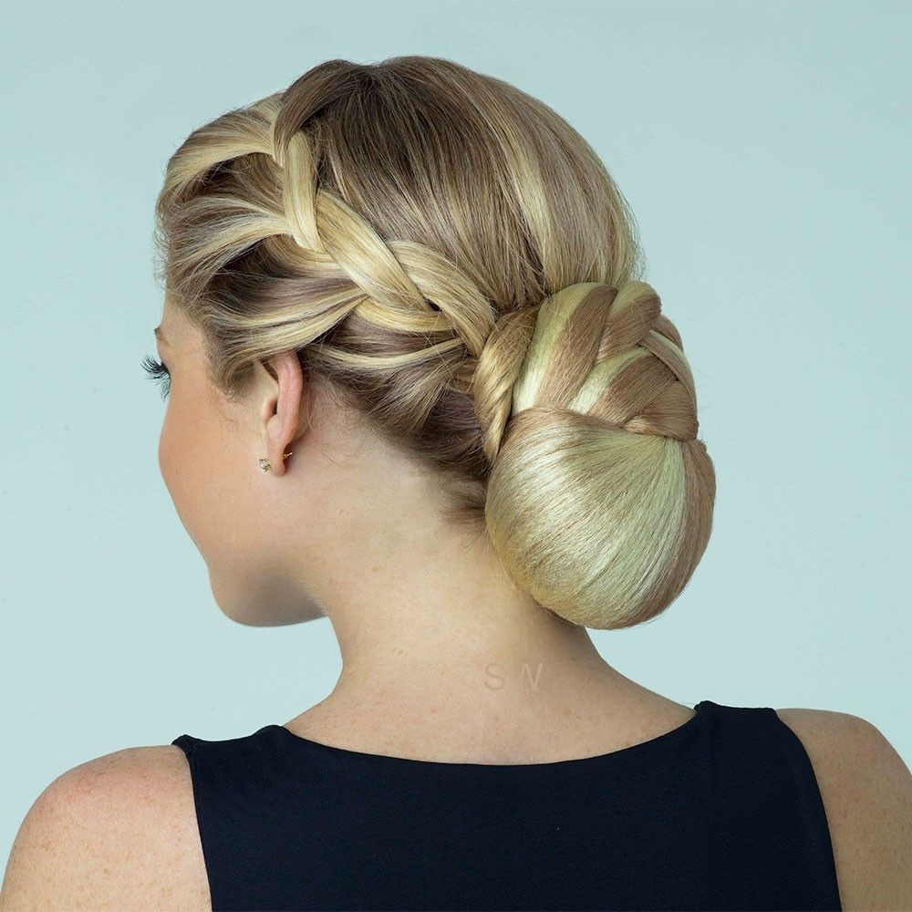 Braid Bun Revlon Hairpiece