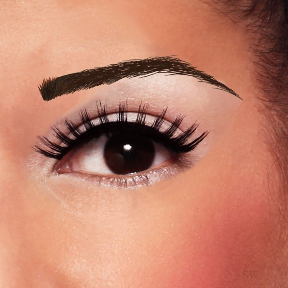 False Eyebrow Dark Neffi Brow