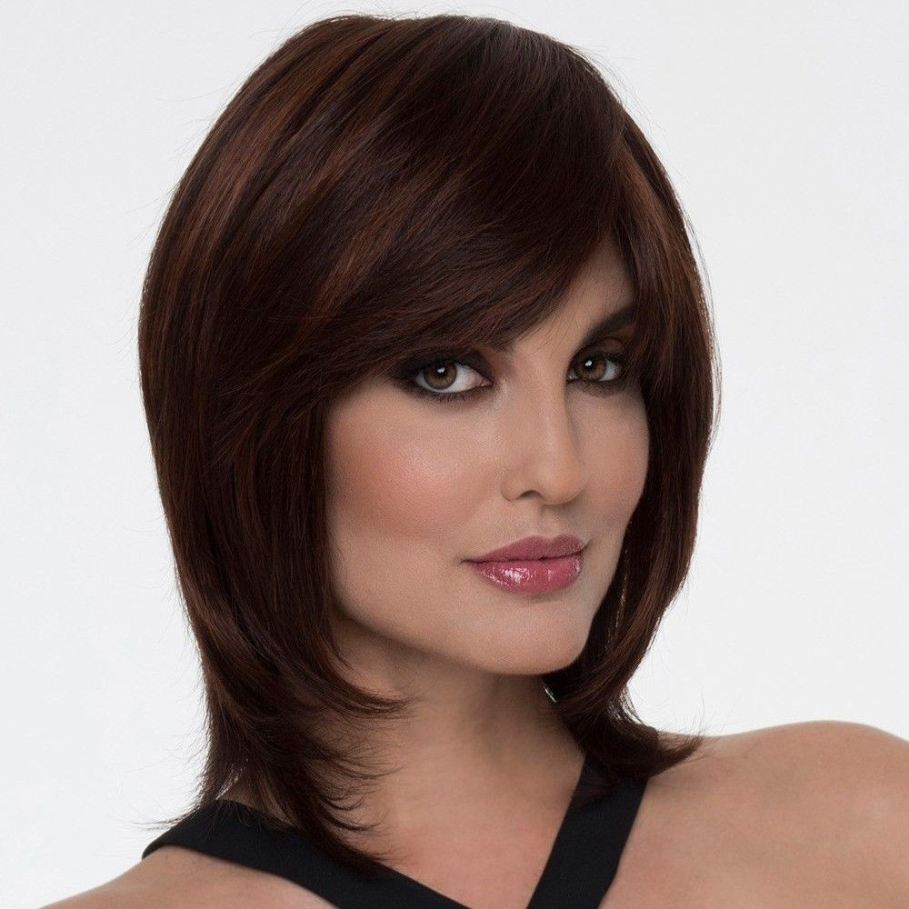 Geranium Wig Natural Collection In Dark Red