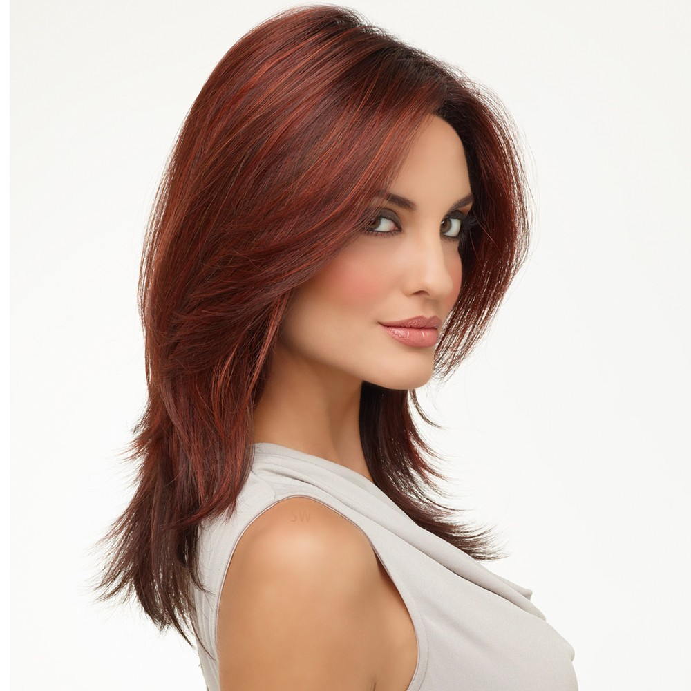 Honeysuckle wig - Natural Collection (shown in colour Dark Red)