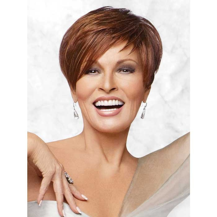 Chic Alert wig Raquel Welch in the colour Golden Russet