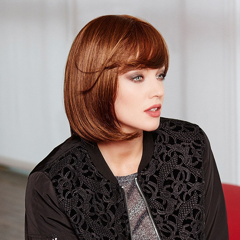 High Tech D Wig Gisela Mayer shown In Chestnut M