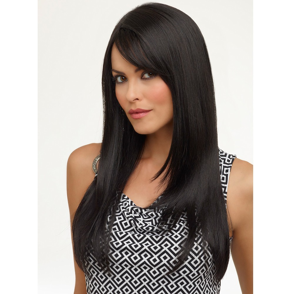 Foxglove wig - Natural Collection (shown in colour Black)