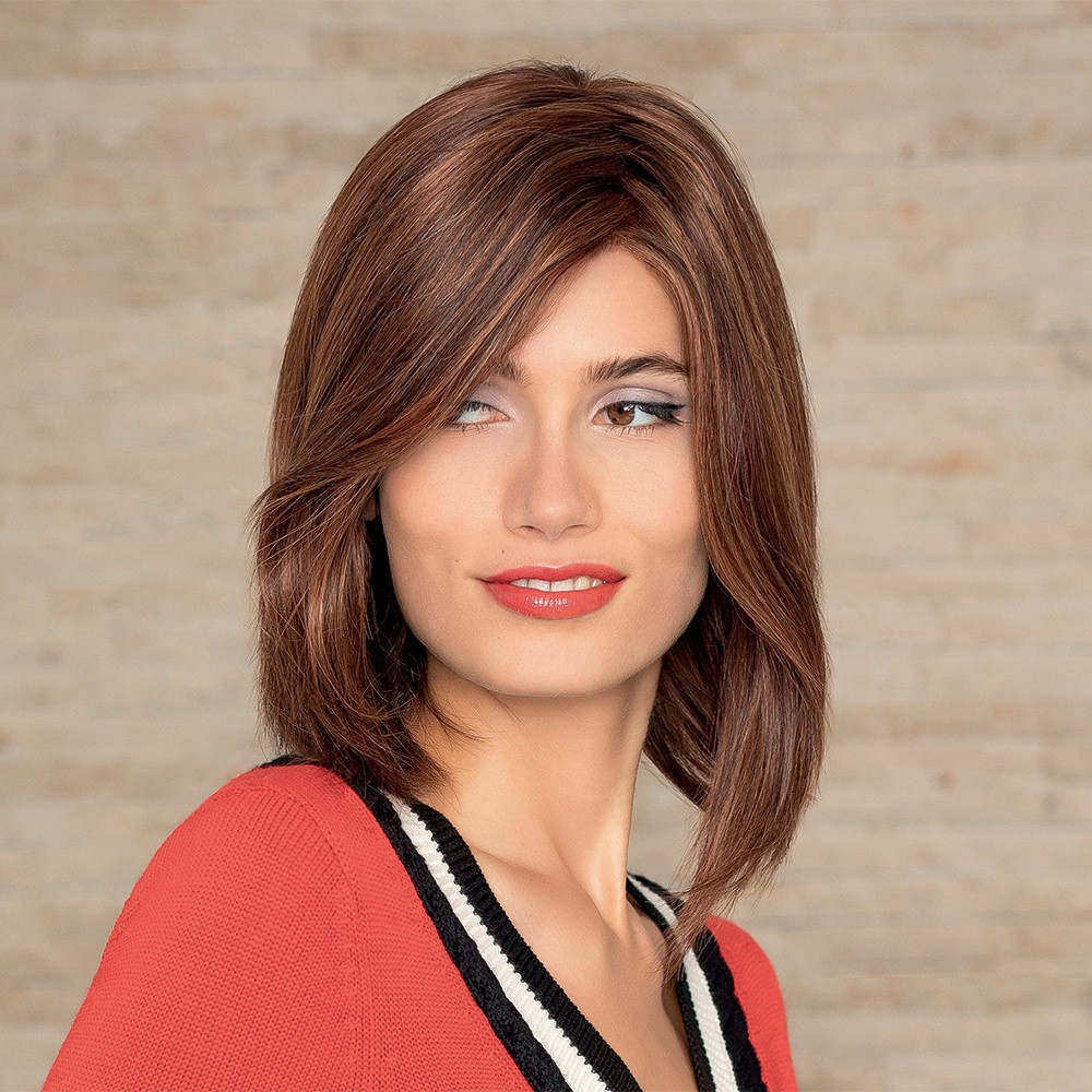 ... Noble Look wig Annica Hansen shown In Champagne