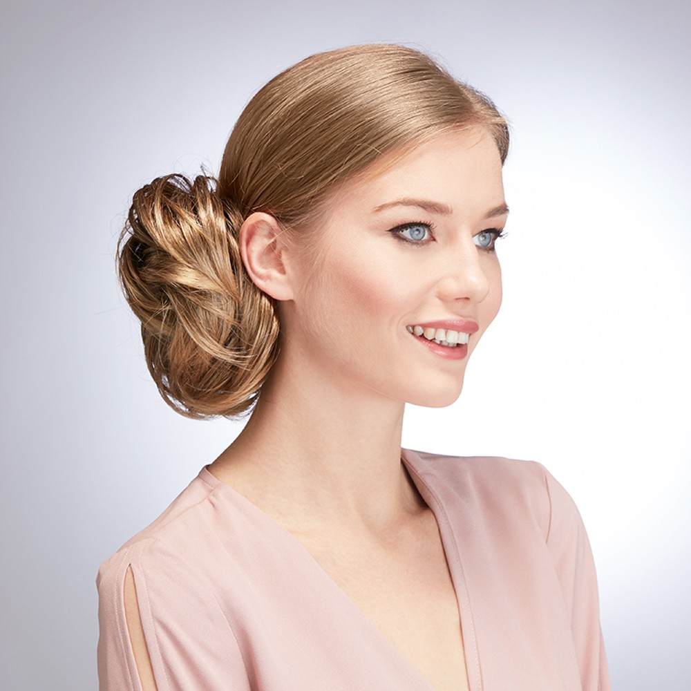 Undone Chignon Hairpiece Hot Hair Simply Wigs