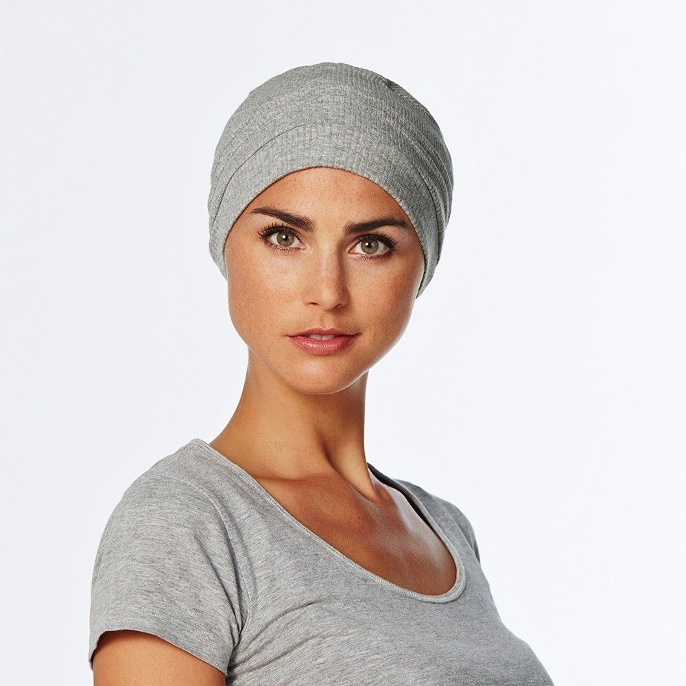 Vitale Turban Viva Collection Christine Headwear In Grey (0326)