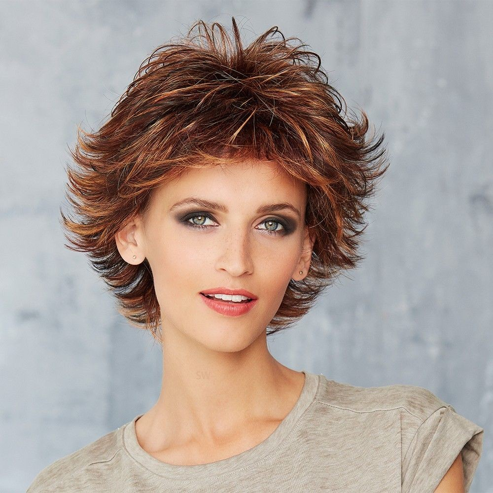 Cosmo Ready wig Gisela Mayer shown In colour Fire Glaze