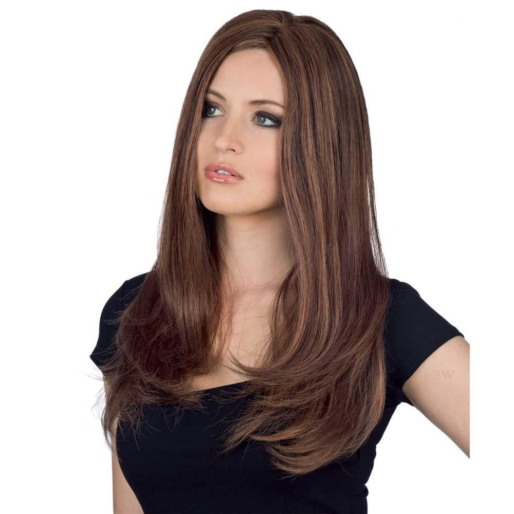 Exclusiv Light Long wig - Gisela Mayer Human Hair (shown in colour 6-30)