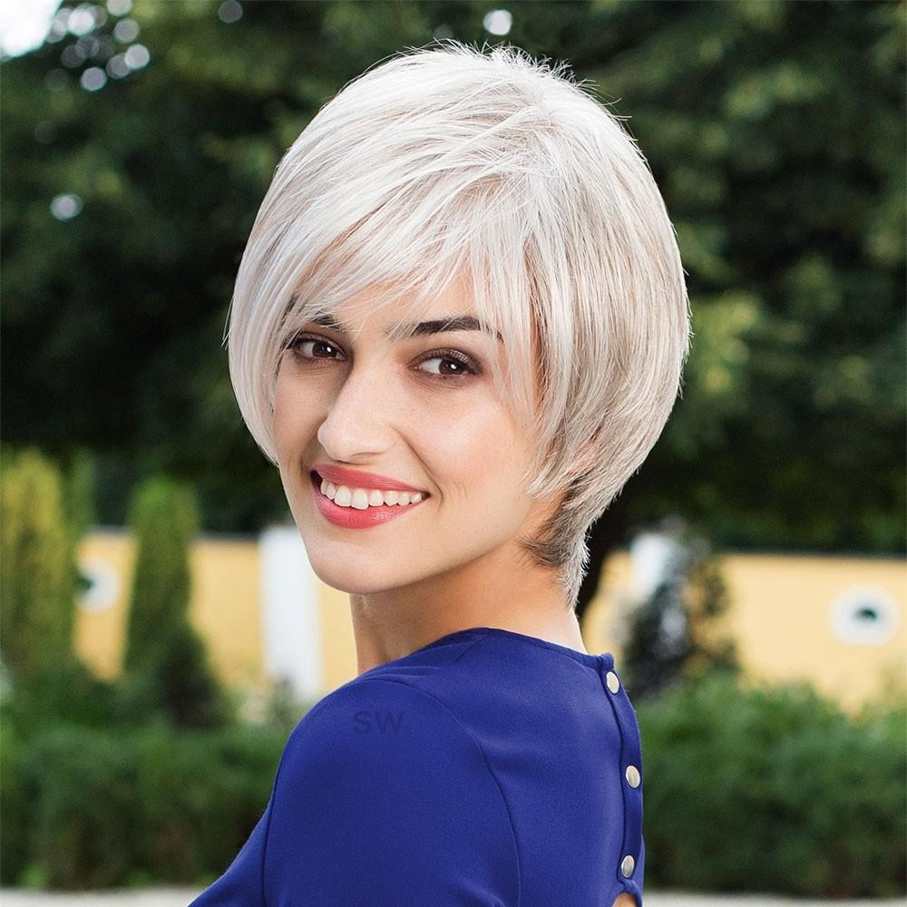 Hawaii Mono Lace Deluxe Large wig Gisela Mayer (shown in colour Silver Snow )