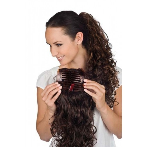 Layered Comb Curly Hairpiece - Gisela Mayer
