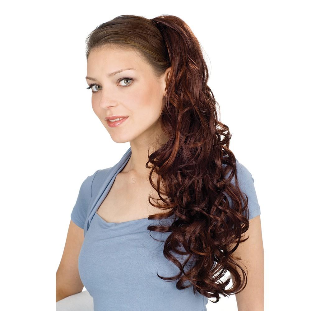 Chic Clip Curly Hairpiece - Gisela Mayer (shown in colour Cheery Cola)