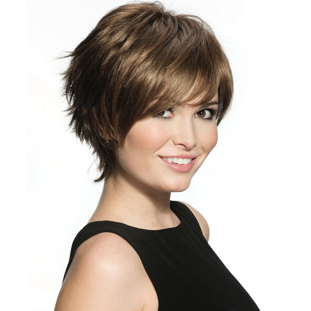 Millie Mono Wig  Dimples Collection (shown In Colour Special Brown)