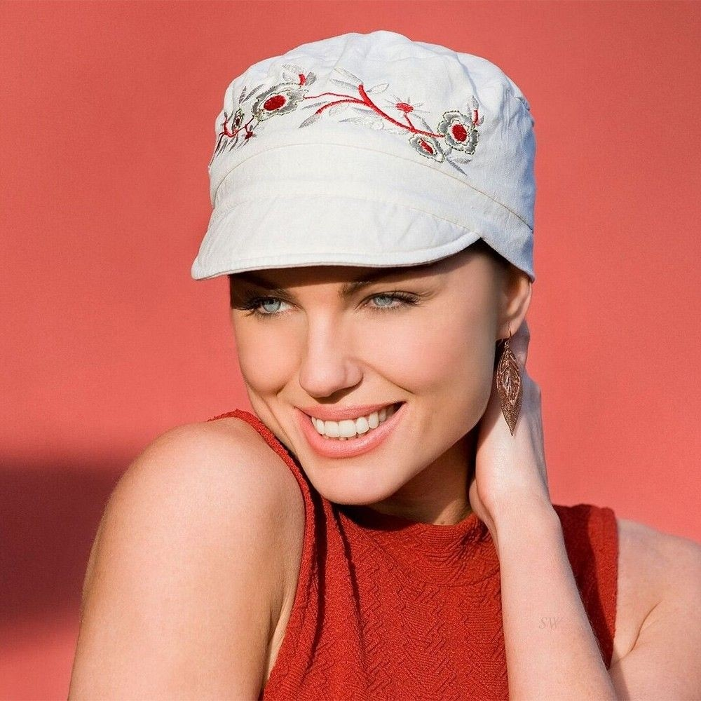 Mirna Cap Sun Wear Purity Headwear In White