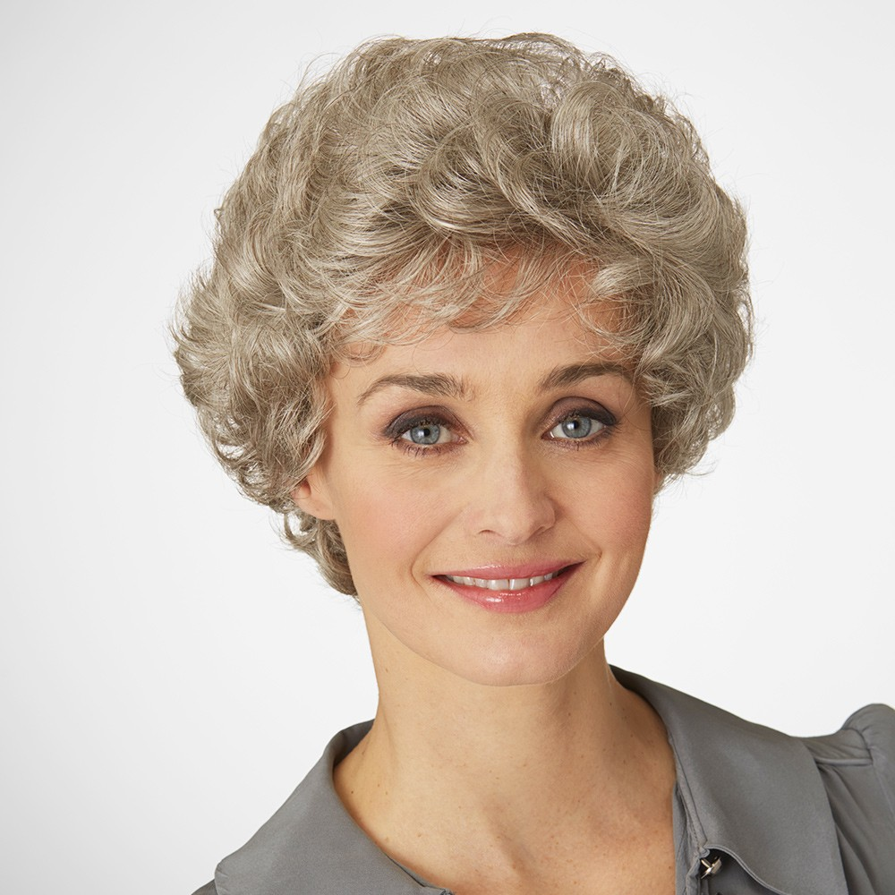 Virgo wig - Natural Image (shown in colour Mahogany)